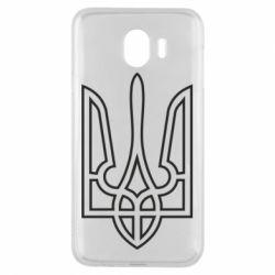 Чохол для Samsung J4 Герб України (полий)