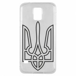 Чохол для Samsung S5 Герб України (полий)