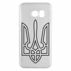 Чохол для Samsung S6 EDGE Герб України (полий)