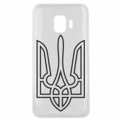 Чохол для Samsung J2 Core Герб України (полий)