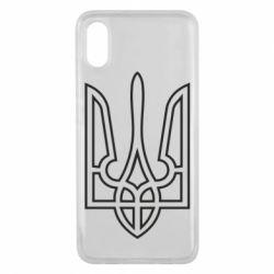 Чохол для Xiaomi Mi8 Pro Герб України (полий)