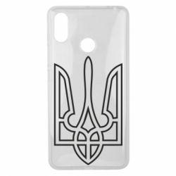 Чохол для Xiaomi Mi Max 3 Герб України (полий)
