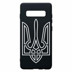 Чохол для Samsung S10+ Герб України (полий)
