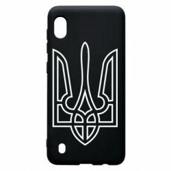 Чохол для Samsung A10 Герб України (полий)