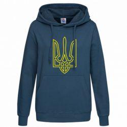 Женская толстовка Герб України (полий) - FatLine