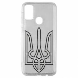 Чохол для Samsung M30s Герб України (полий)