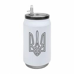 Термобанка 350ml Герб України (полий)
