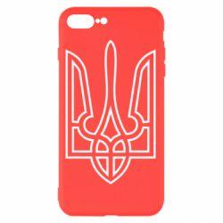 Чохол для iPhone 8 Plus Герб України (полий)