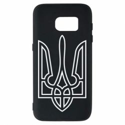 Чохол для Samsung S7 Герб України (полий)