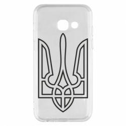 Чохол для Samsung A3 2017 Герб України (полий)