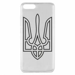 Чохол для Xiaomi Mi Note 3 Герб України (полий)