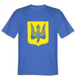 Мужская футболка Герб України сокіл - FatLine
