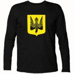 Футболка с длинным рукавом Герб України сокіл - FatLine