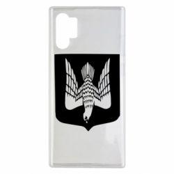 Чохол для Samsung Note 10 Plus Герб України сокіл