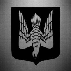 Наклейка Герб України сокіл