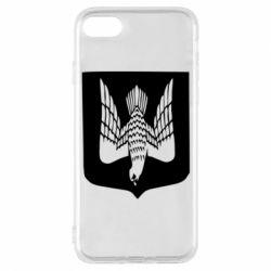 Чохол для iPhone 8 Герб України сокіл