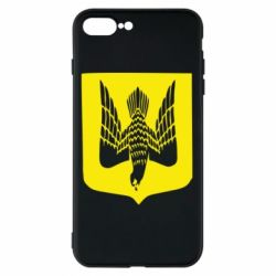 Чохол для iPhone 8 Plus Герб України сокіл