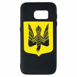 Чохол для Samsung S7 Герб України сокіл