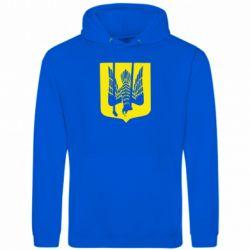 Толстовка Герб України голуб - FatLine