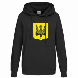 Женская толстовка Герб України сокіл - FatLine