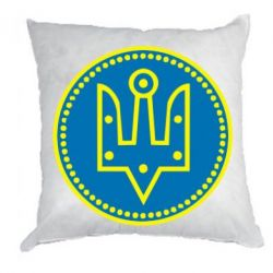 Подушка Герб України у колі - FatLine