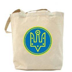 Сумка Герб України у колі - FatLine