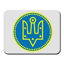 Коврик для мыши Герб України у колі - FatLine