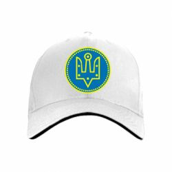 Кепка Герб України у колі - FatLine