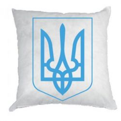 Подушка Герб України з рамкою - FatLine