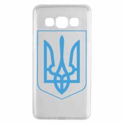 Чехол для Samsung A3 2015 Герб України з рамкою - FatLine