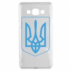 Чехол для Samsung A5 2015 Герб України з рамкою - FatLine