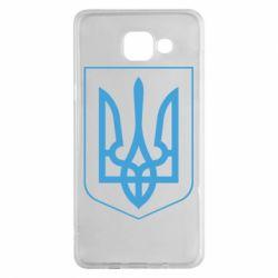 Чехол для Samsung A5 2016 Герб України з рамкою