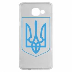 Чехол для Samsung A5 2016 Герб України з рамкою - FatLine