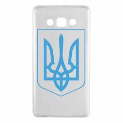 Чехол для Samsung A7 2015 Герб України з рамкою - FatLine