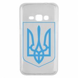 Чехол для Samsung J1 2016 Герб України з рамкою - FatLine