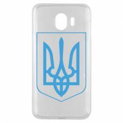 Чехол для Samsung J4 Герб України з рамкою - FatLine