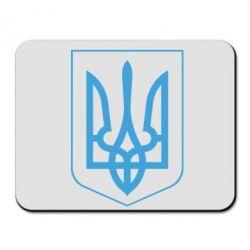 Килимок для миші Герб України з рамкою