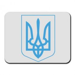 Коврик для мыши Герб України з рамкою - FatLine