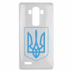 Чехол для LG G4 Герб України з рамкою - FatLine