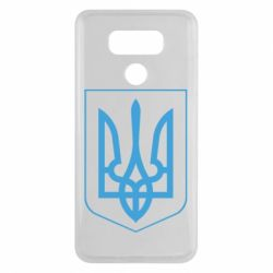 Чехол для LG G6 Герб України з рамкою - FatLine