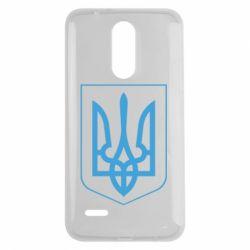 Чехол для LG K7 2017 Герб України з рамкою - FatLine