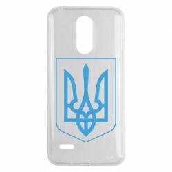 Чехол для LG K8 2017 Герб України з рамкою - FatLine