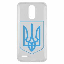 Чехол для LG K10 2017 Герб України з рамкою - FatLine