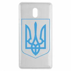 Чехол для Nokia 3 Герб України з рамкою - FatLine