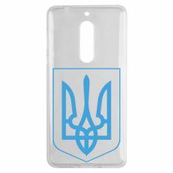 Чехол для Nokia 5 Герб України з рамкою - FatLine