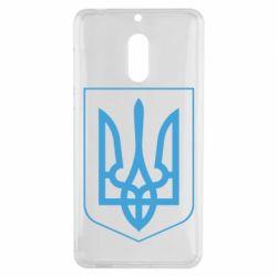 Чехол для Nokia 6 Герб України з рамкою - FatLine