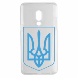 Чехол для Meizu 15 Plus Герб України з рамкою - FatLine