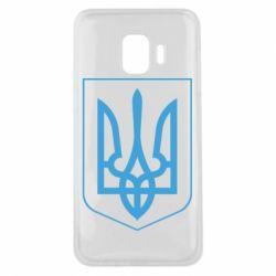 Чехол для Samsung J2 Core Герб України з рамкою - FatLine