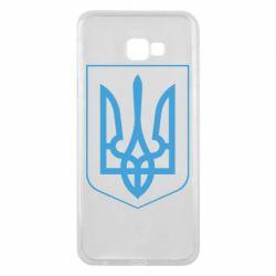 Чехол для Samsung J4 Plus 2018 Герб України з рамкою - FatLine