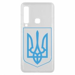 Чехол для Samsung A9 2018 Герб України з рамкою - FatLine